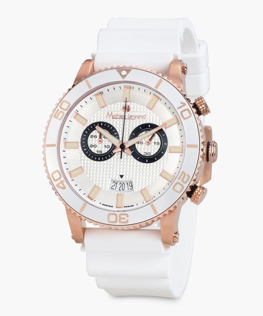 Immergee white watch