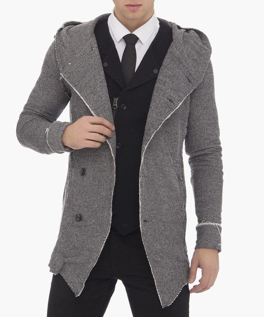Grey tailored jacket