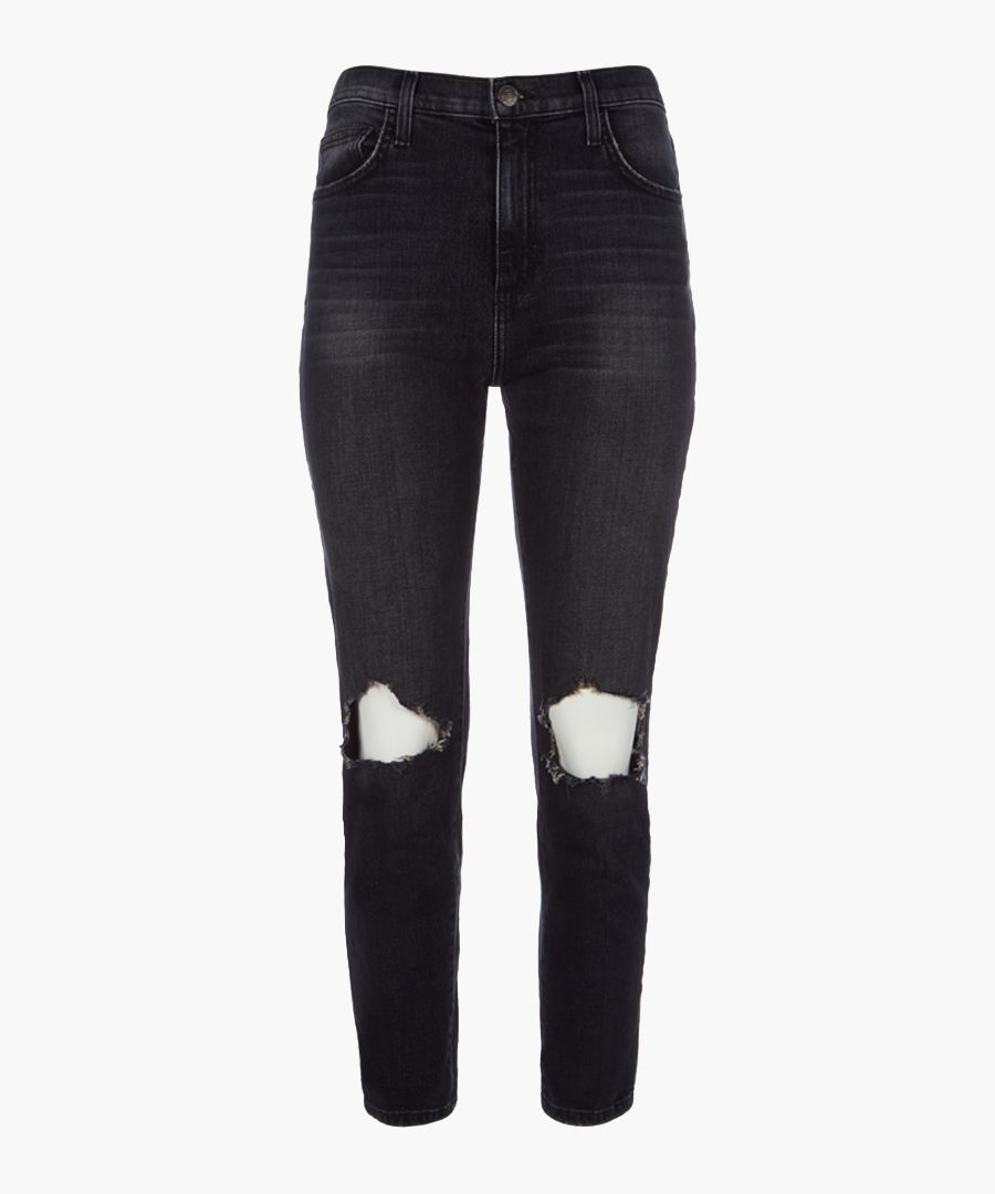 The Vintage Cropped straight jeans