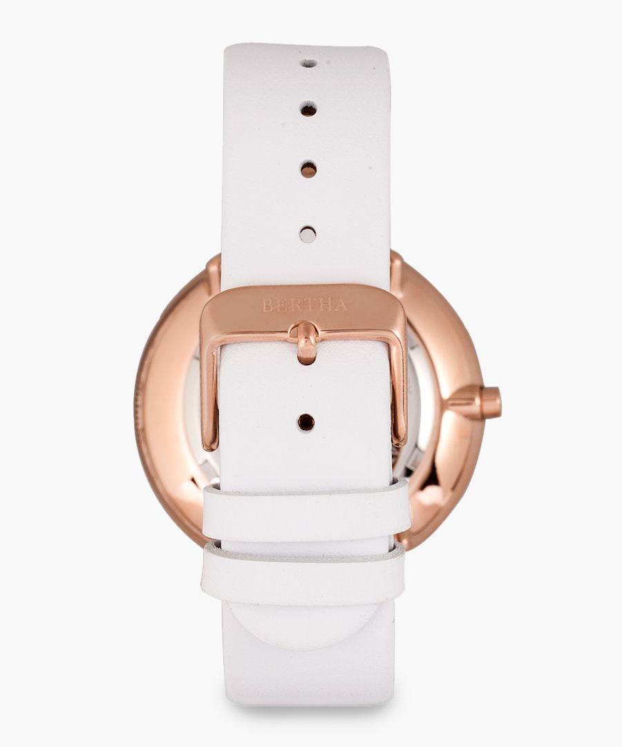 Ingrid white watch
