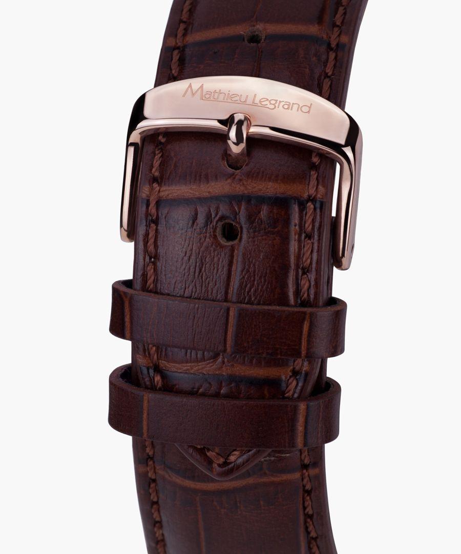 Classique brown watch
