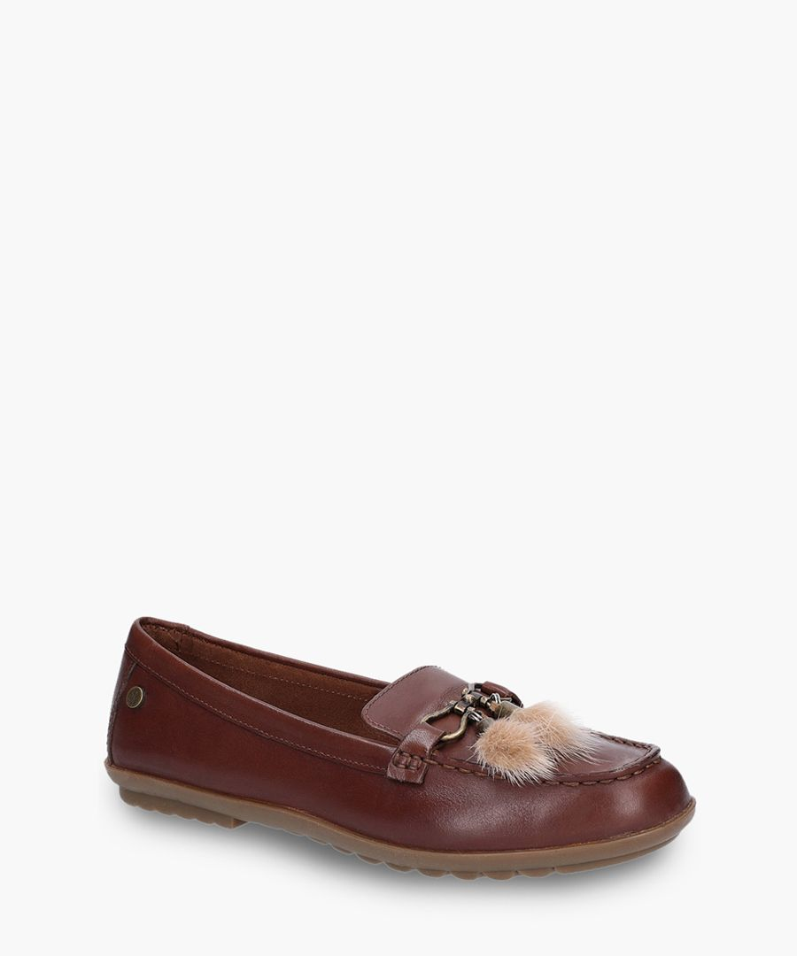 Momens brown loafers
