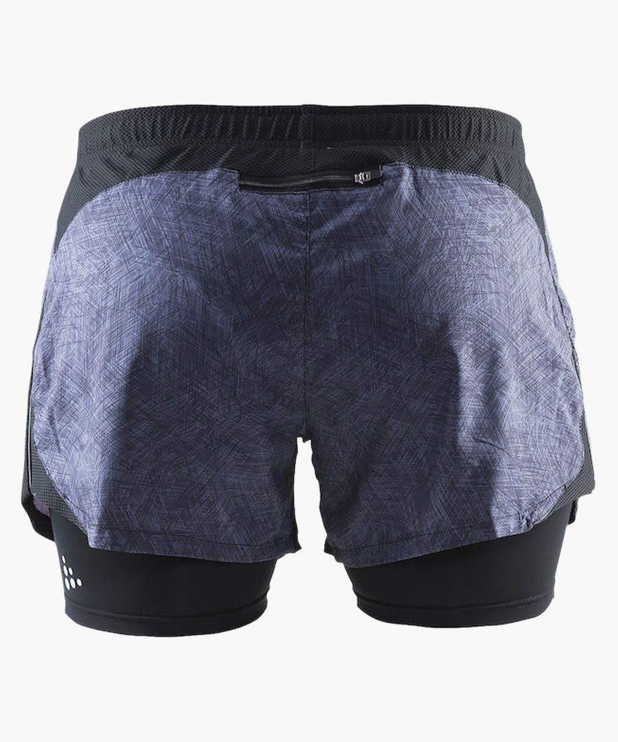 Joy charcoal 2 in 1 shorts
