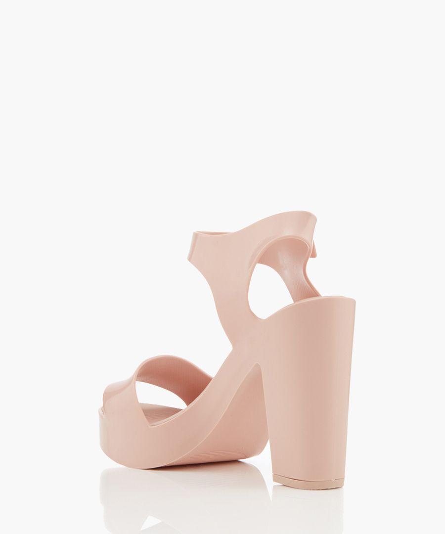 Mar blush strappy heels