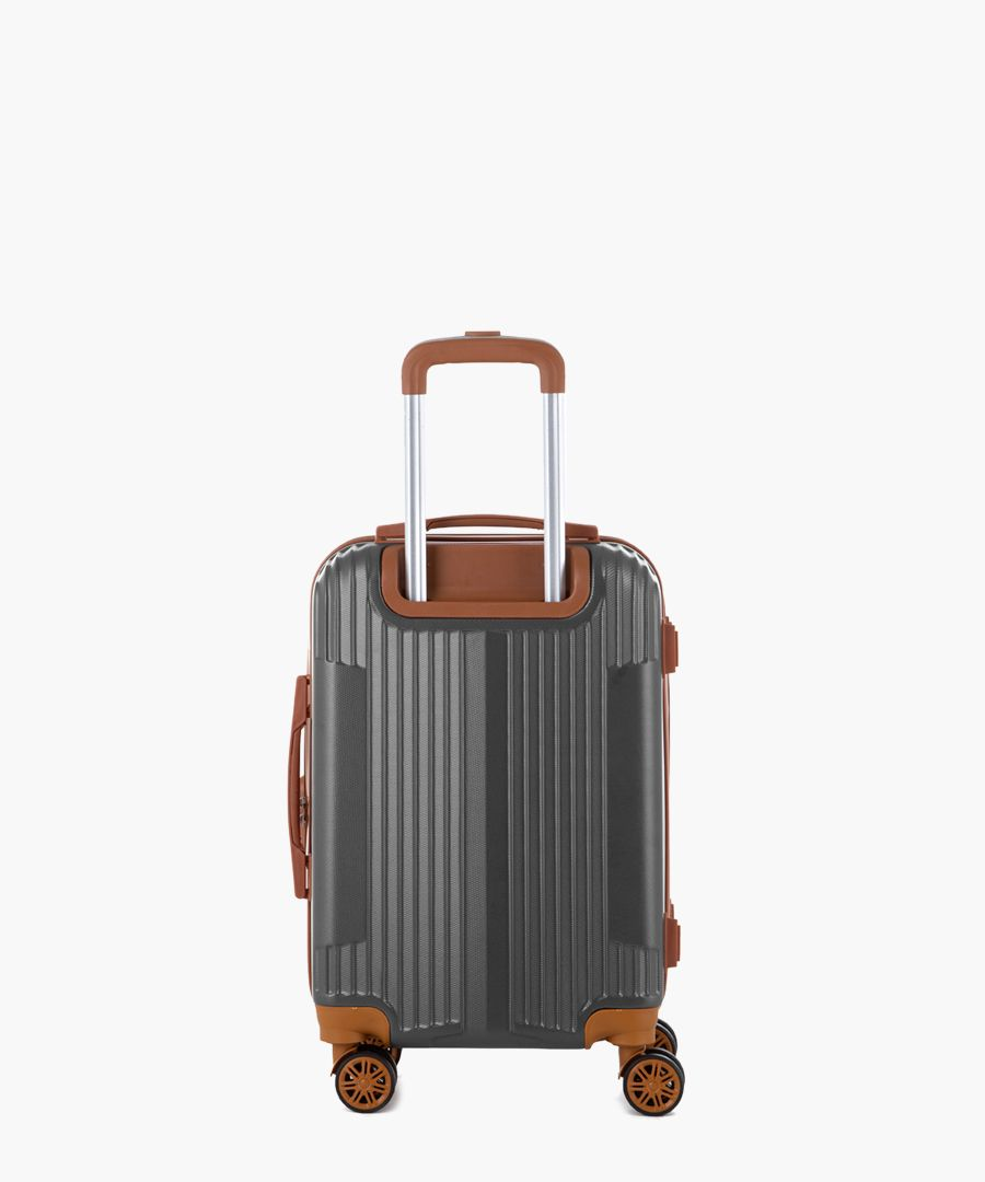 Grey cabin suitcase