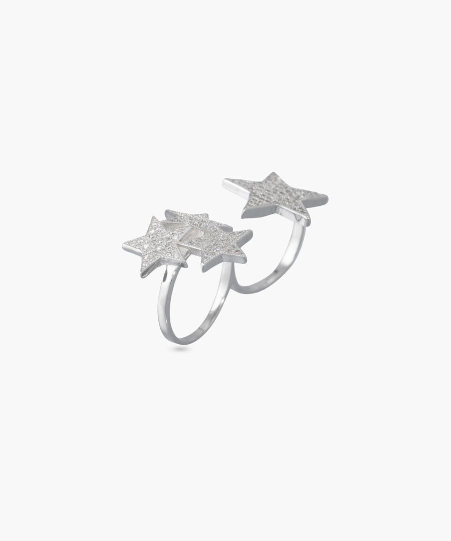 Voie lactée silver ring