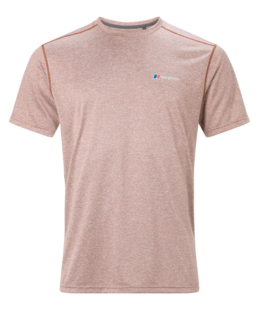 Muted red T-shirt