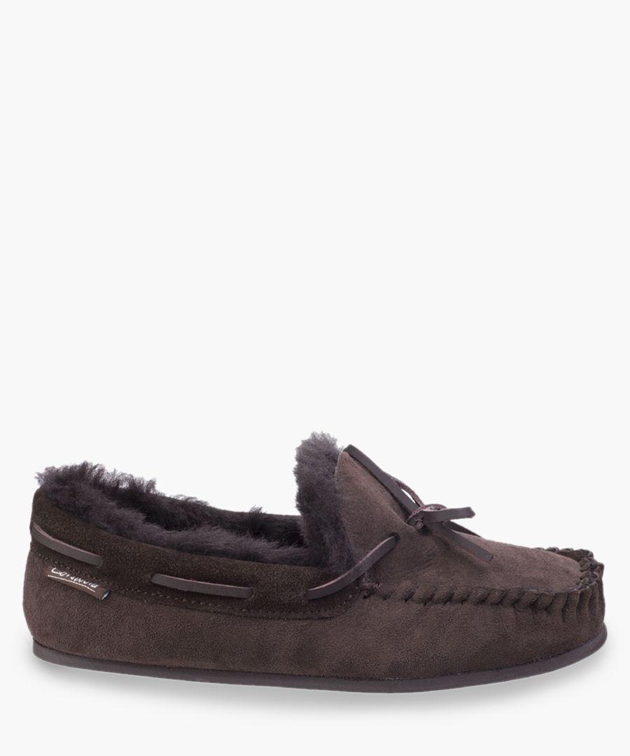 Womens chocolate slippers
