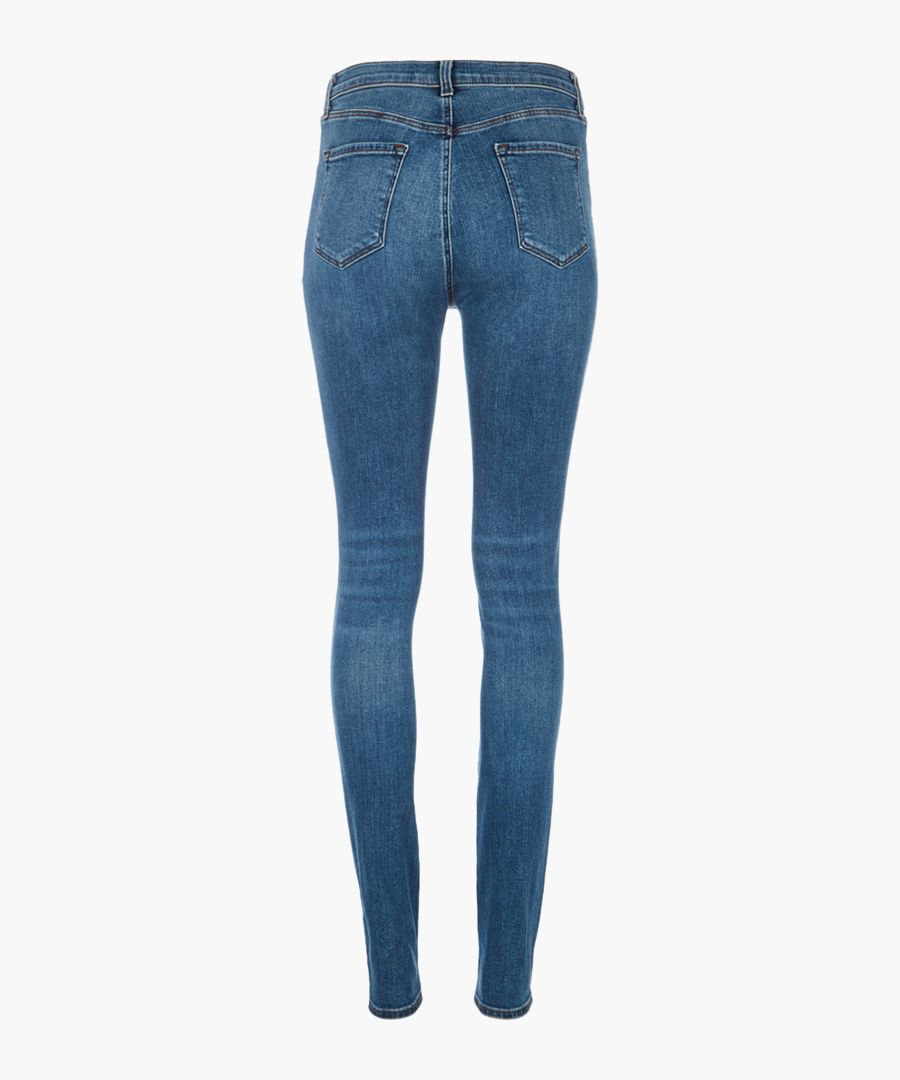 Carolina delphi super-high skinny jeans