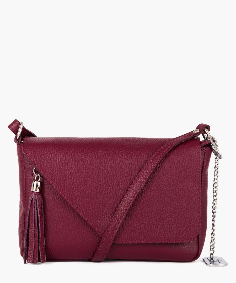 Lola red shoulder bag