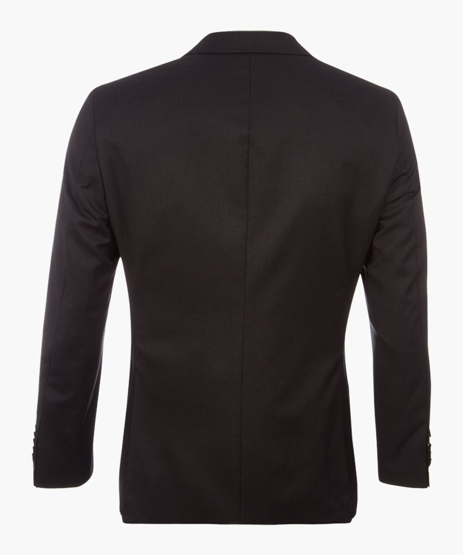 Howard graphite pure virgin wool blazer