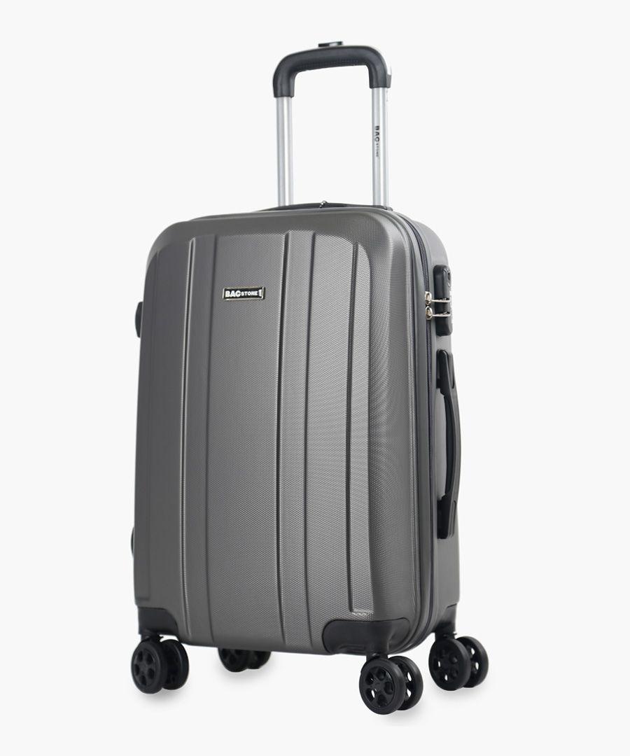 Bagstone grey suitcase