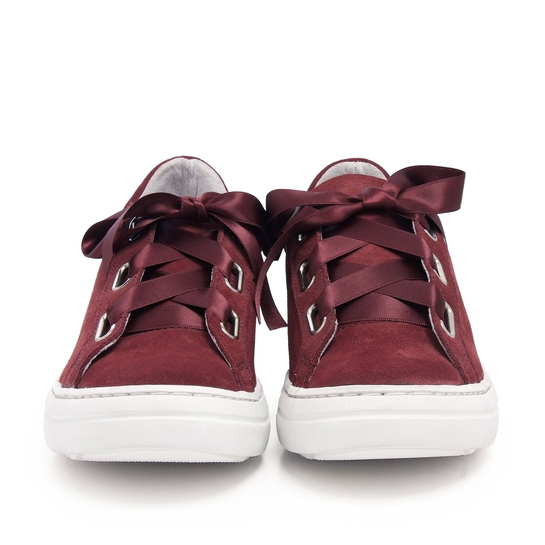 Sneakers Woman Garnet Leather Maria Barcelo