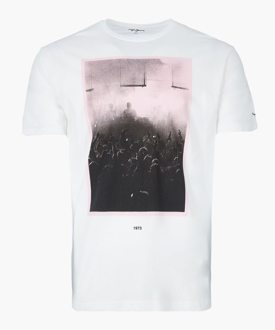 Northolt Factory white graphic t-shirt