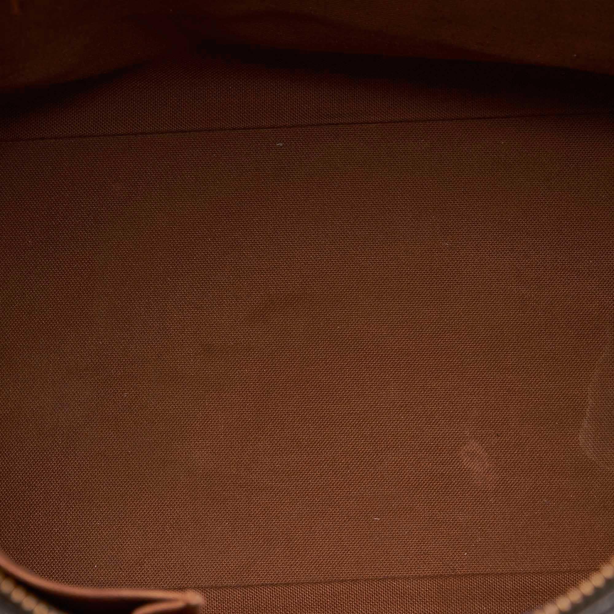 Vintage Louis Vuitton Monogram Cabas Mezzo Brown