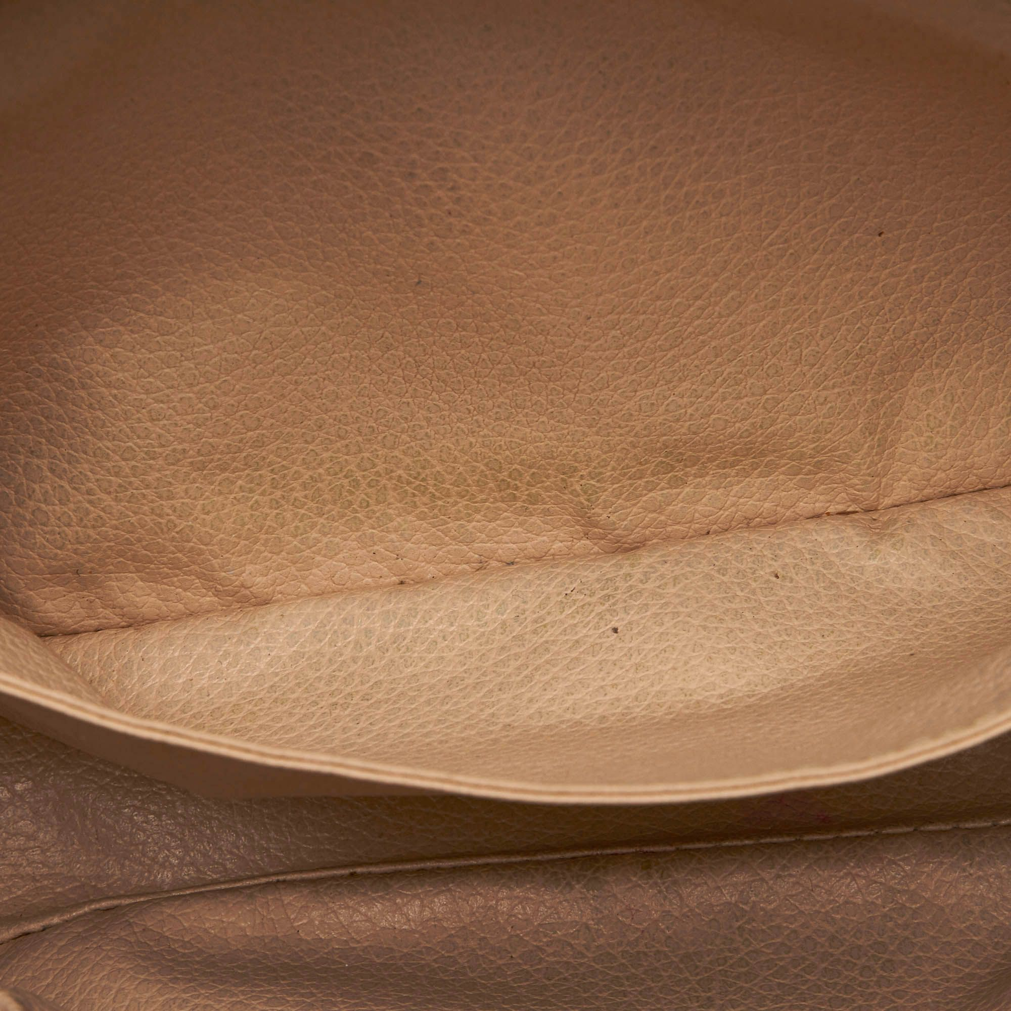 Vintage Louis Vuitton Monogram Trousse Toilette 23 Brown