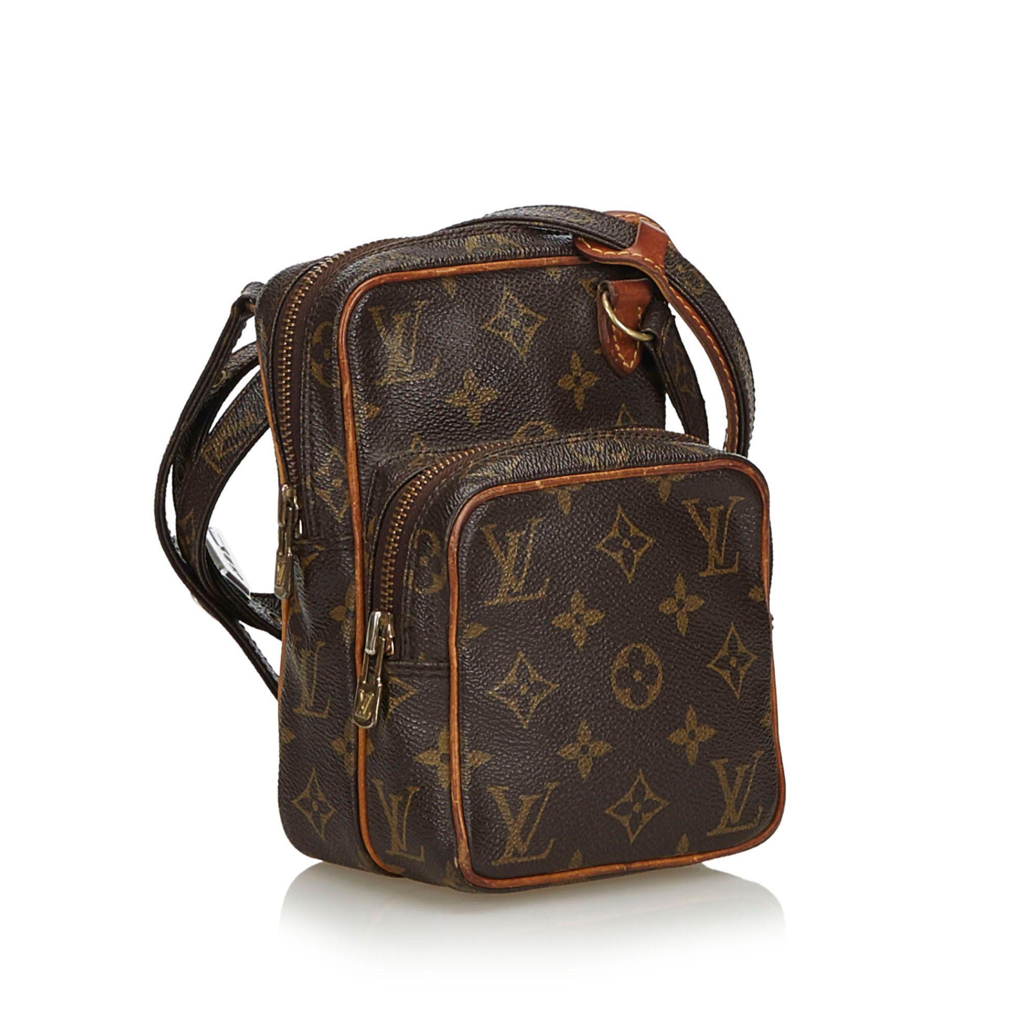Vintage Louis Vuitton Monogram Mini Amazone Brown
