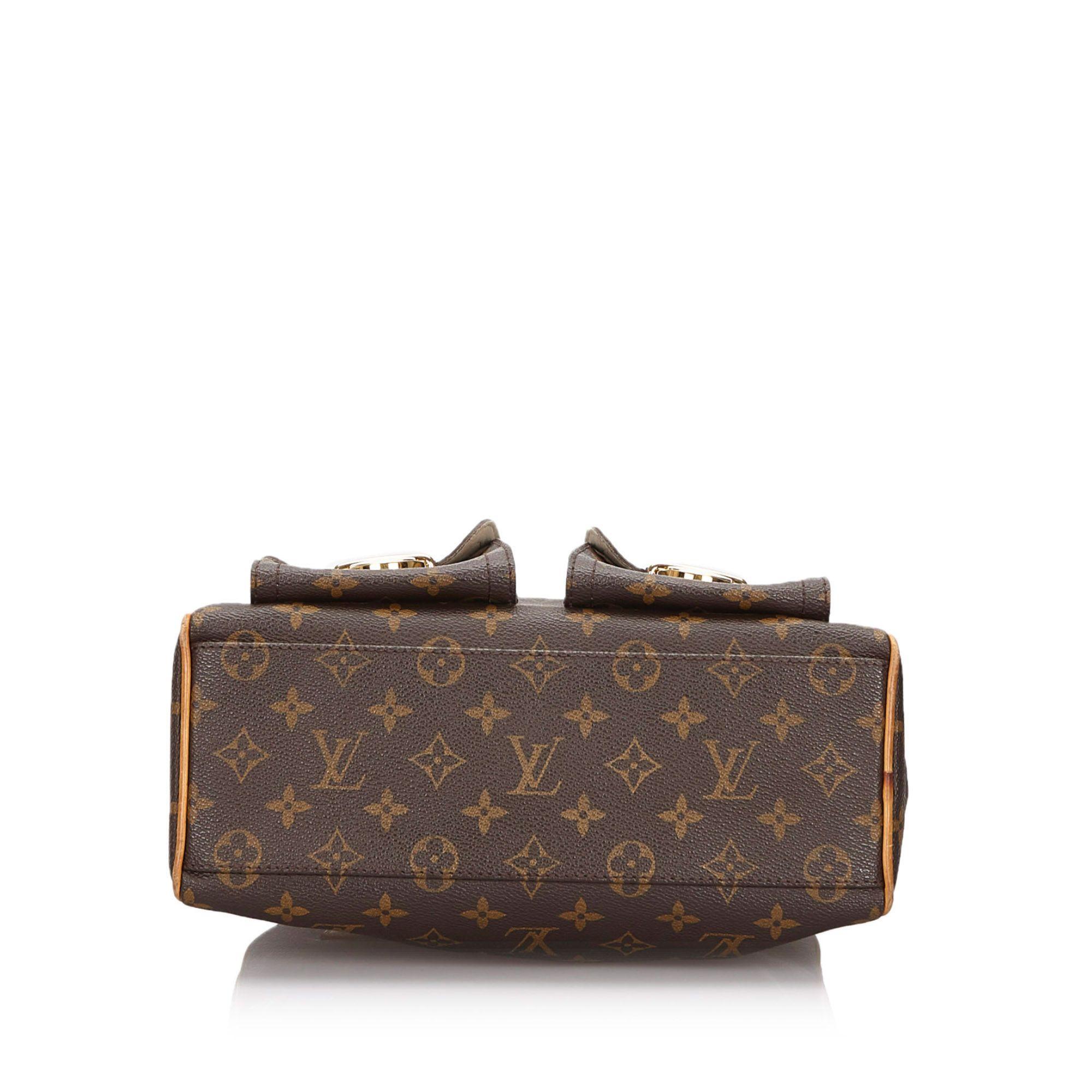 Vintage Louis Vuitton Monogram Manhattan PM Brown