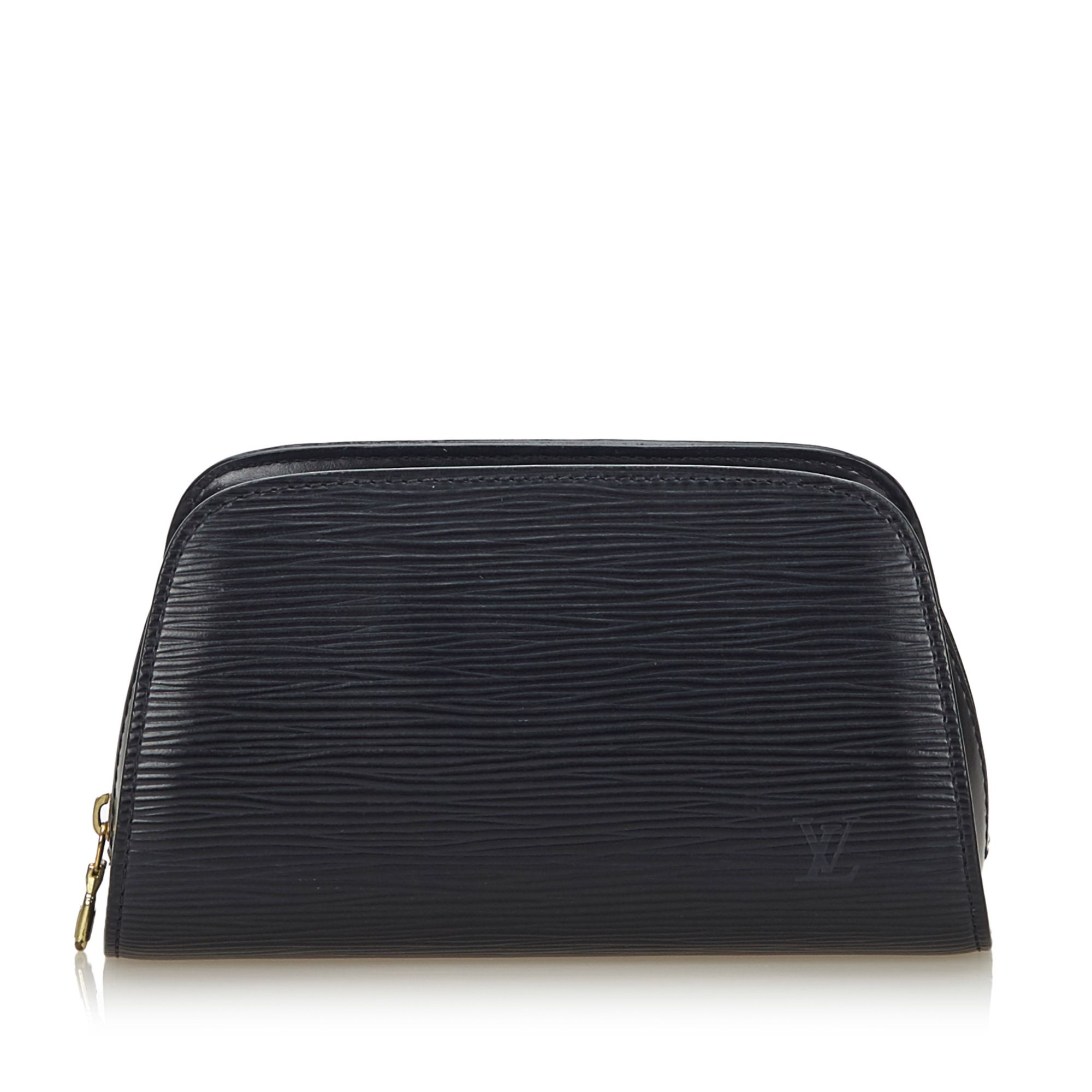 Vintage Louis Vuitton Epi Dauphine Black