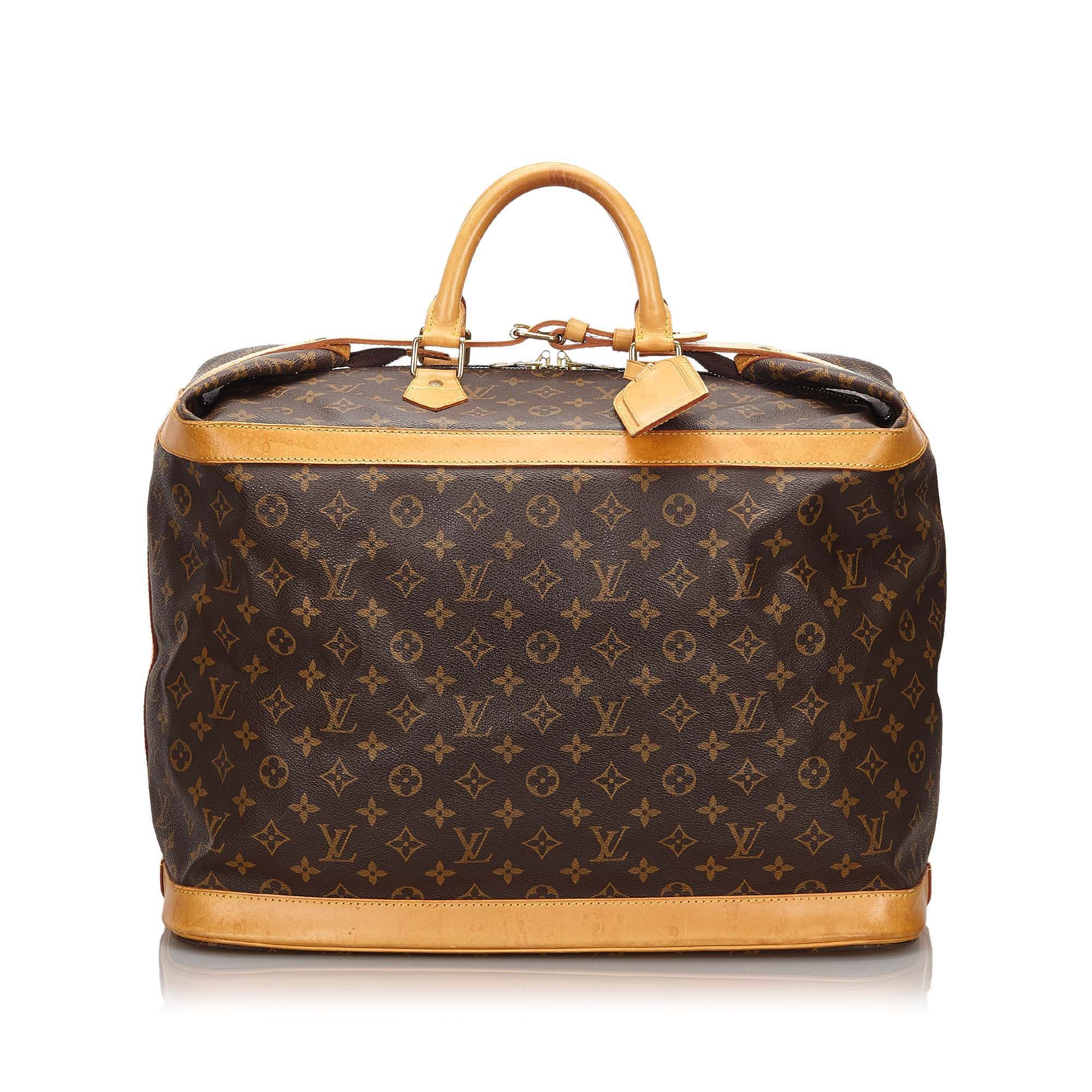 Vintage Louis Vuitton Monogram Cruiser 45 Brown