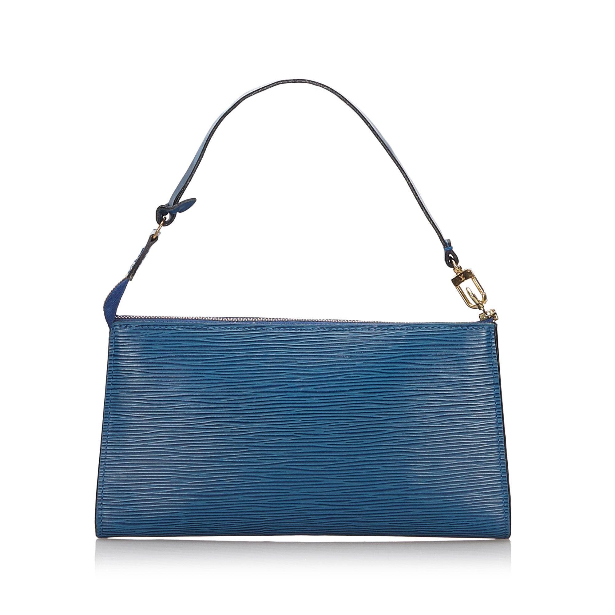 Vintage Louis Vuitton Epi Pochette Accessoires Blue