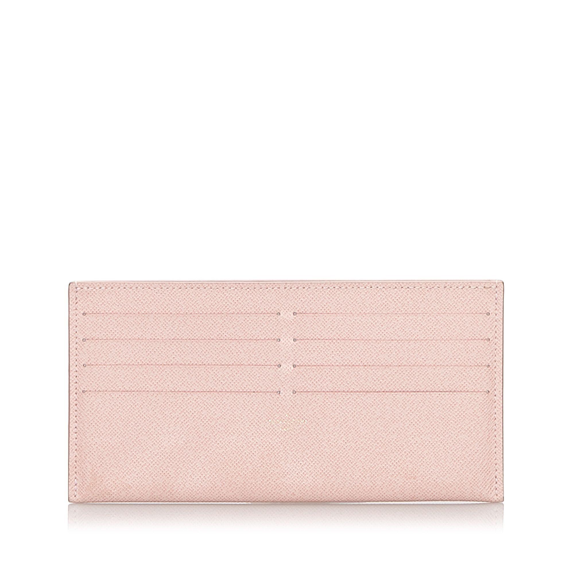 Vintage Louis Vuitton Taiga Pochette Felicie Insert Pink