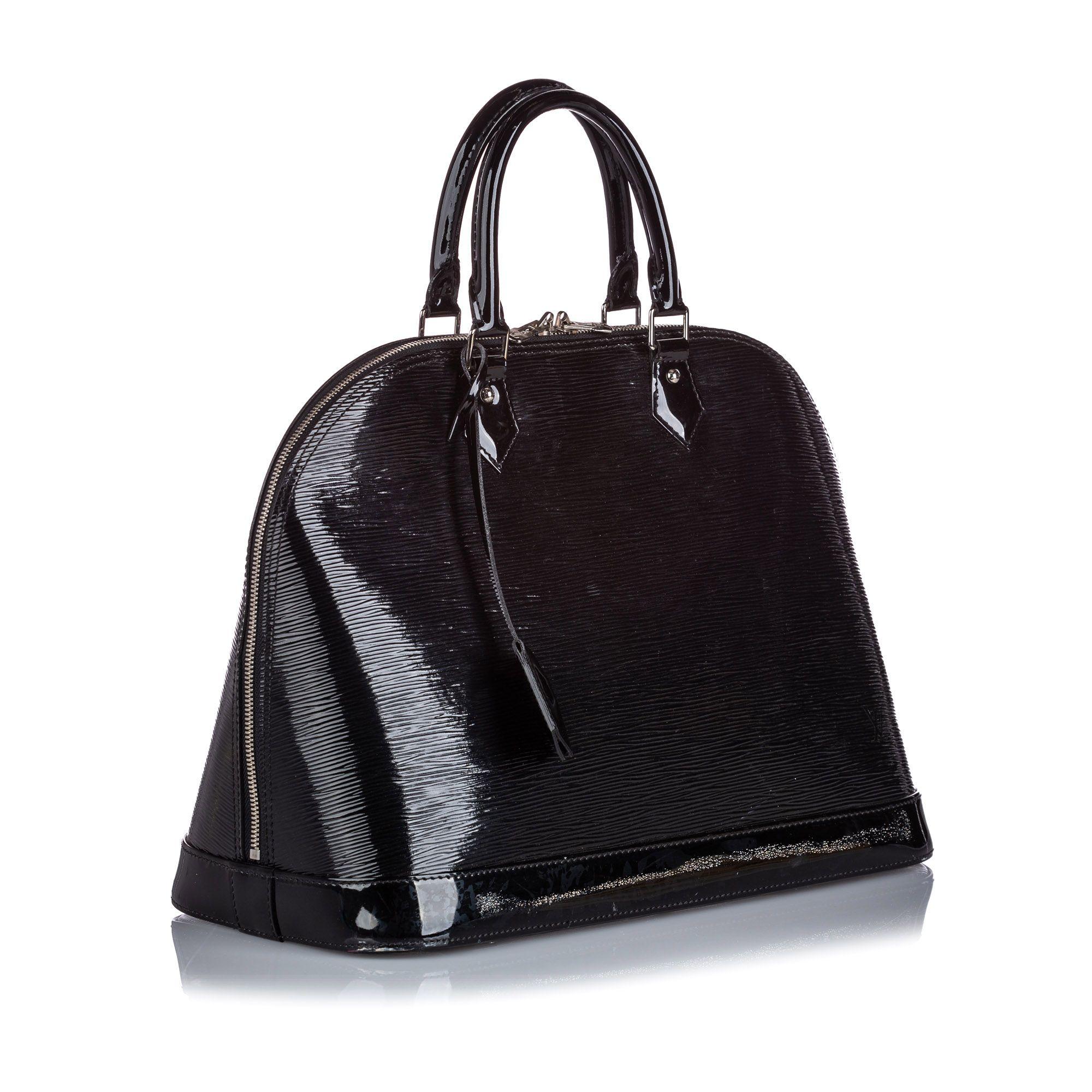 Vintage Louis Vuitton Electric Epi Alma PM Black