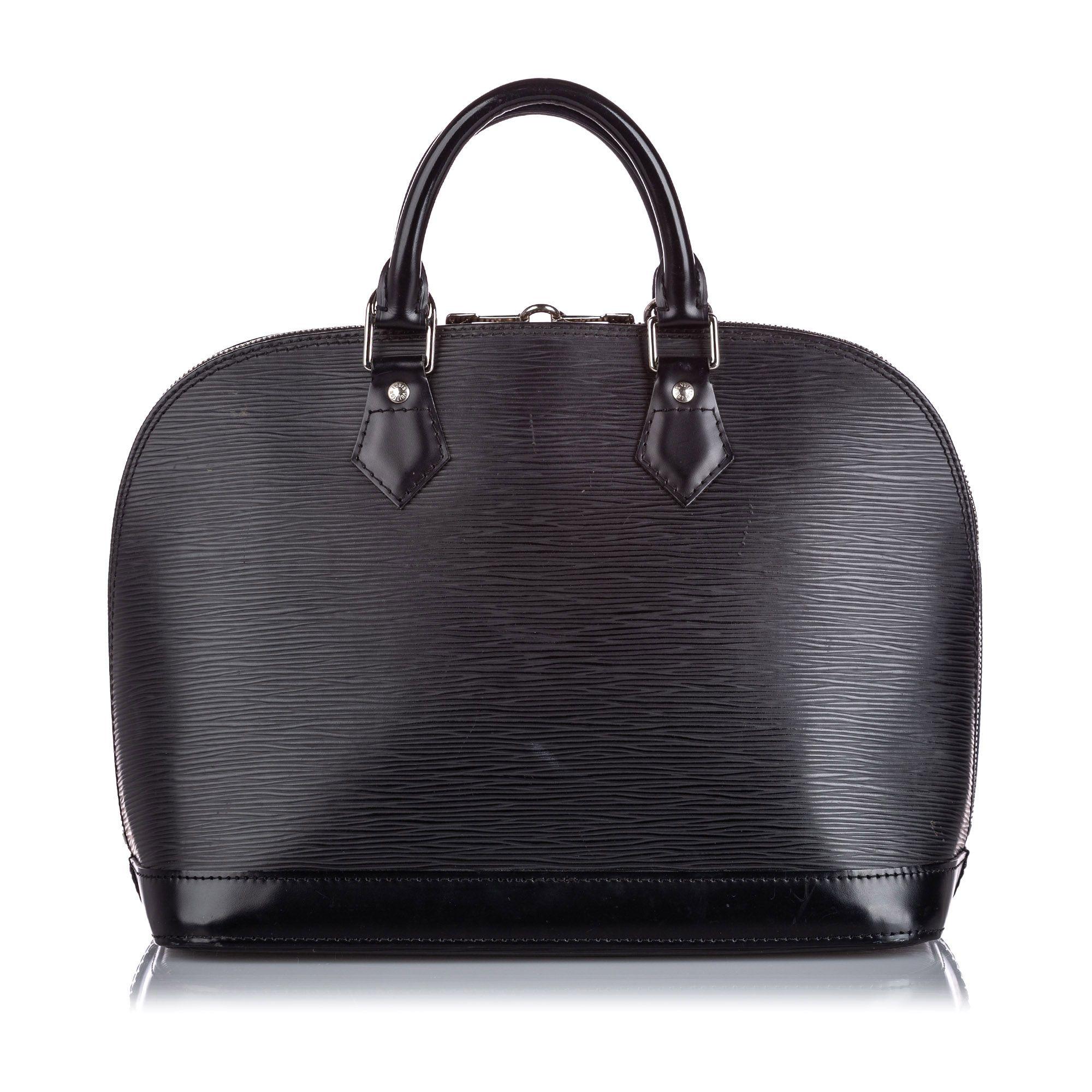 Vintage Louis Vuitton Epi Alma PM Black