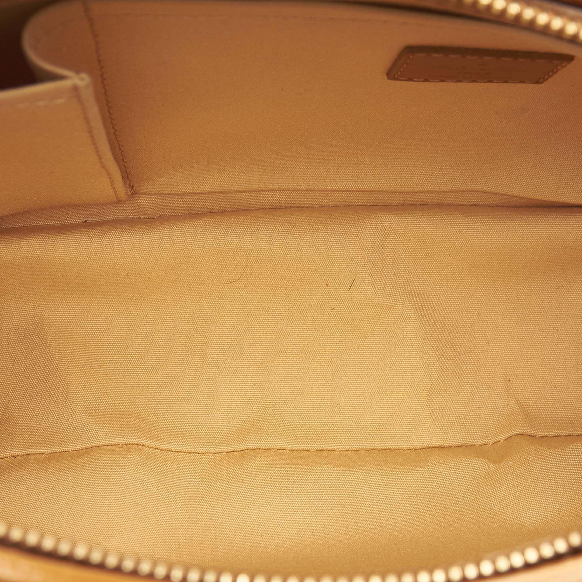 Vintage Louis Vuitton Monogram Mini Lin Lucille PM Brown