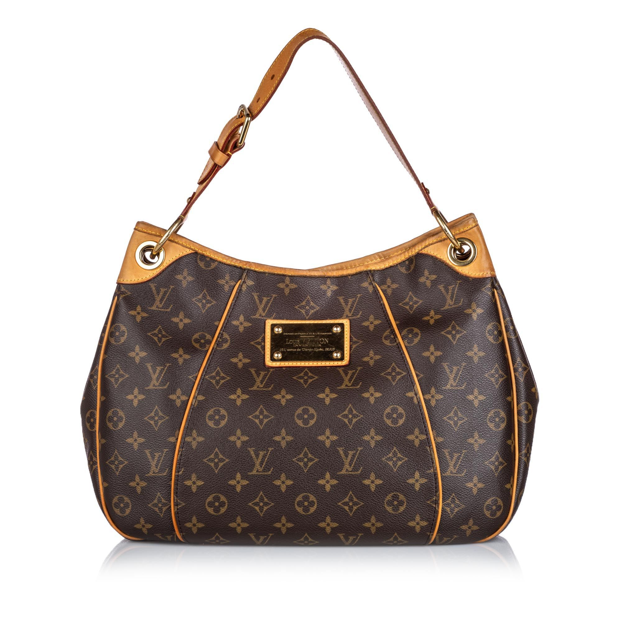 Vintage Louis Vuitton Monogram Galliera PM Brown