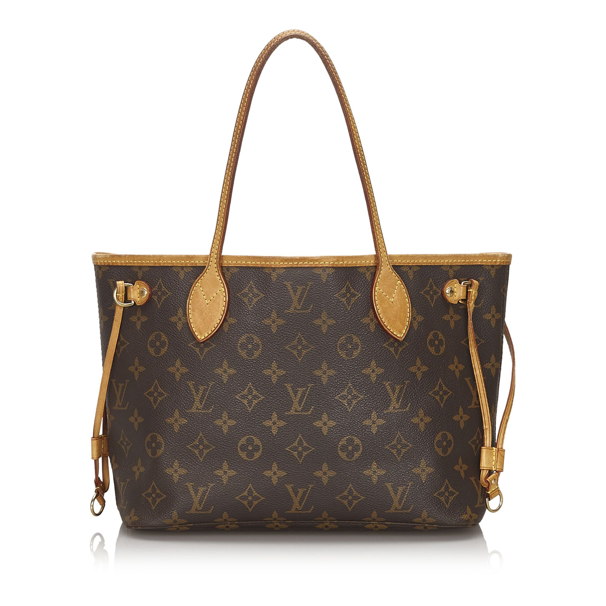 Vintage Louis Vuitton Monogram Neverfull PM Brown