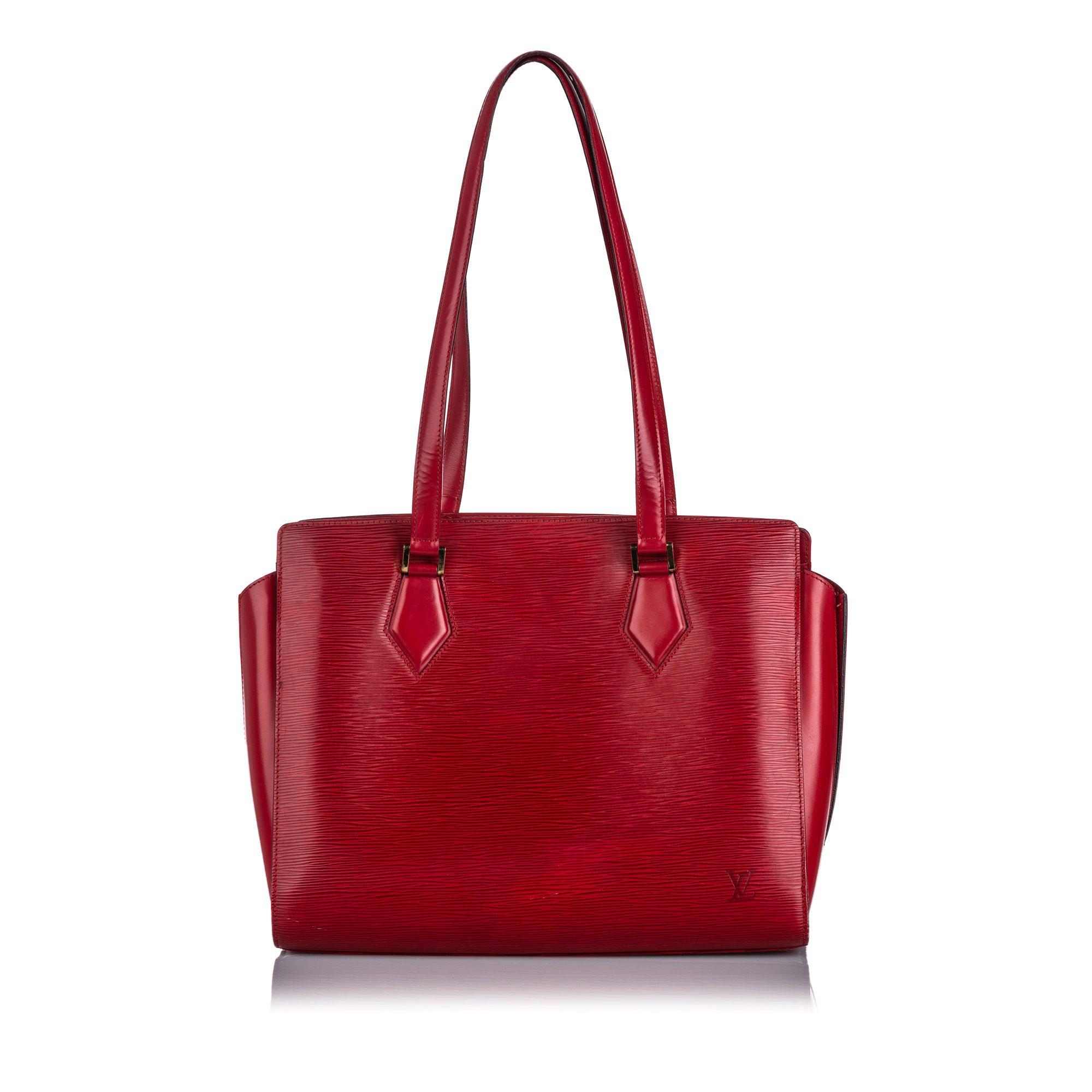 Vintage Louis Vuitton Epi Duplex Red