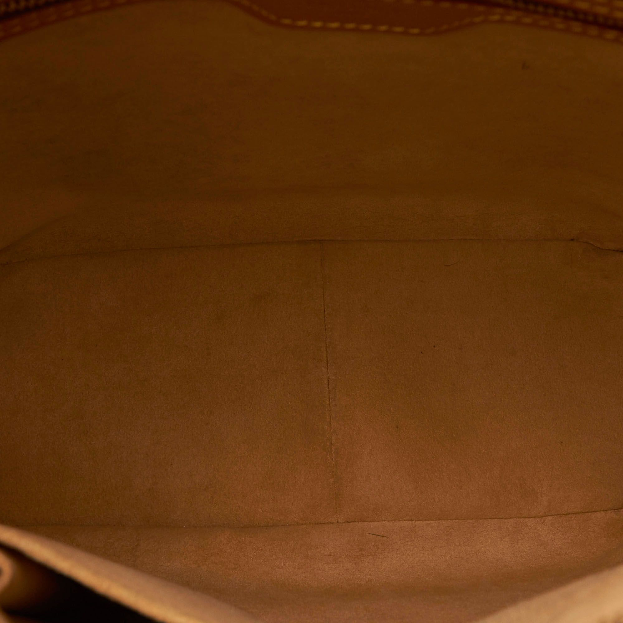 Vintage Louis Vuitton Monogram Looping GM Brown