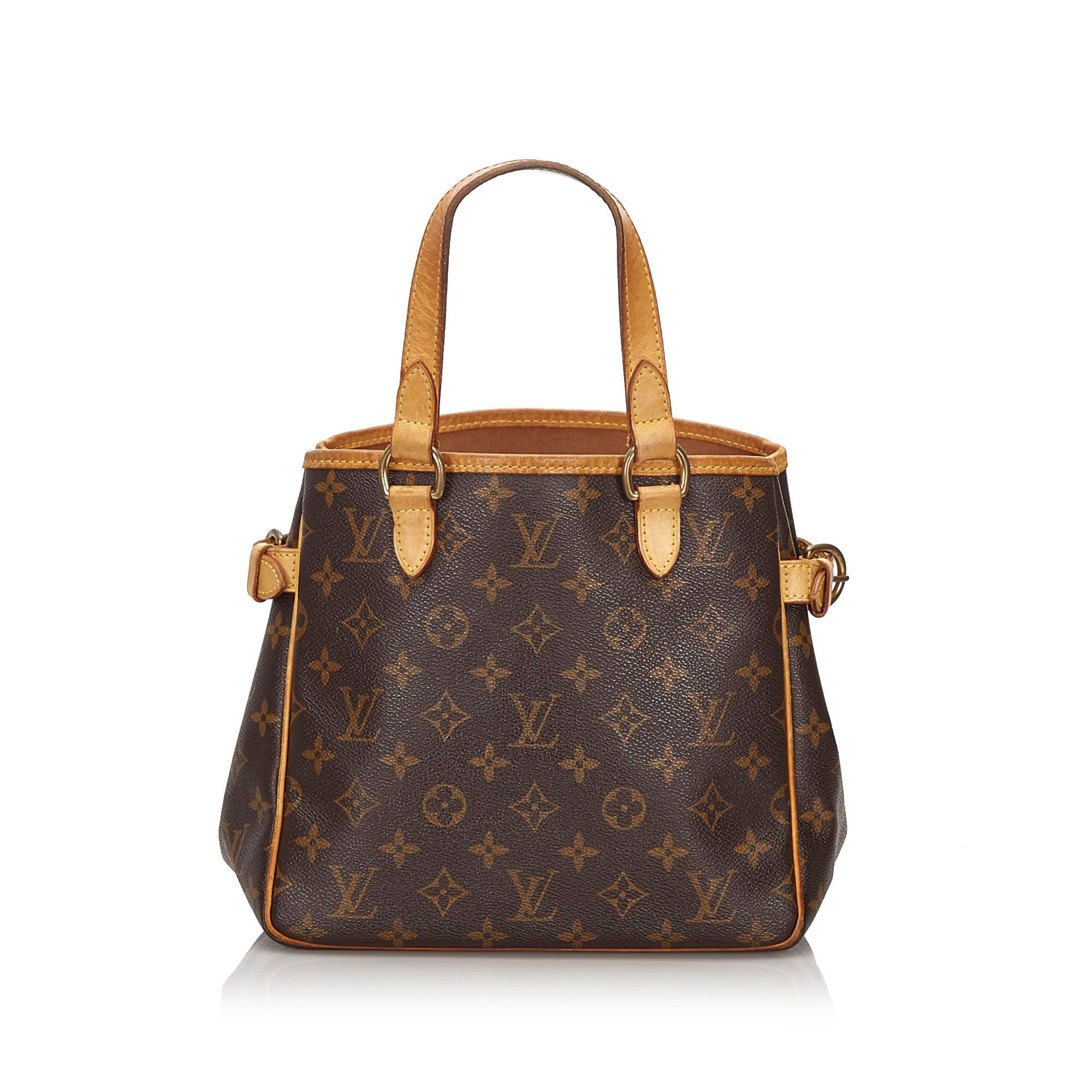 Vintage Louis Vuitton Monogram Batignolles Vertical Brown