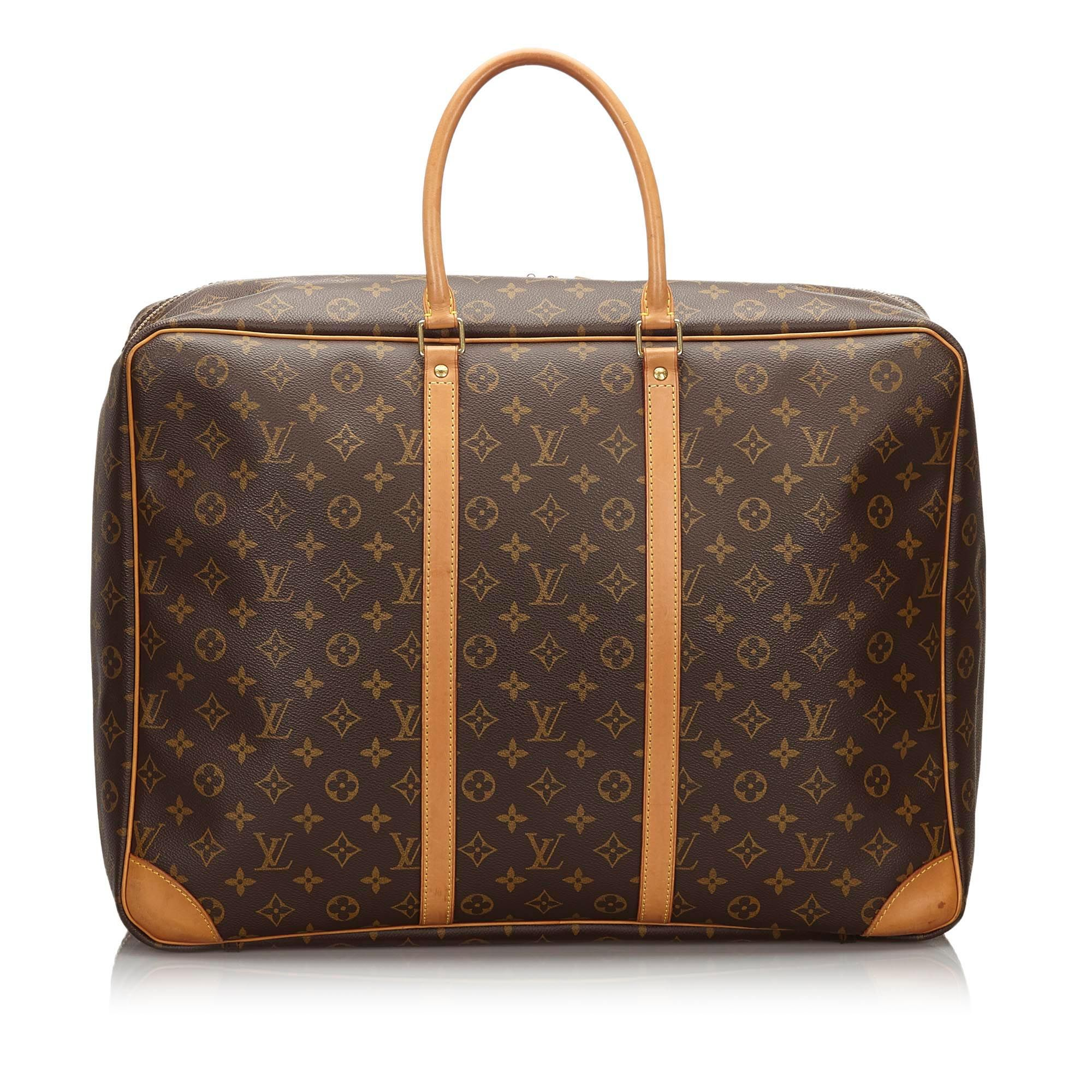 Vintage Louis Vuitton Monogram Sirius 50 Brown