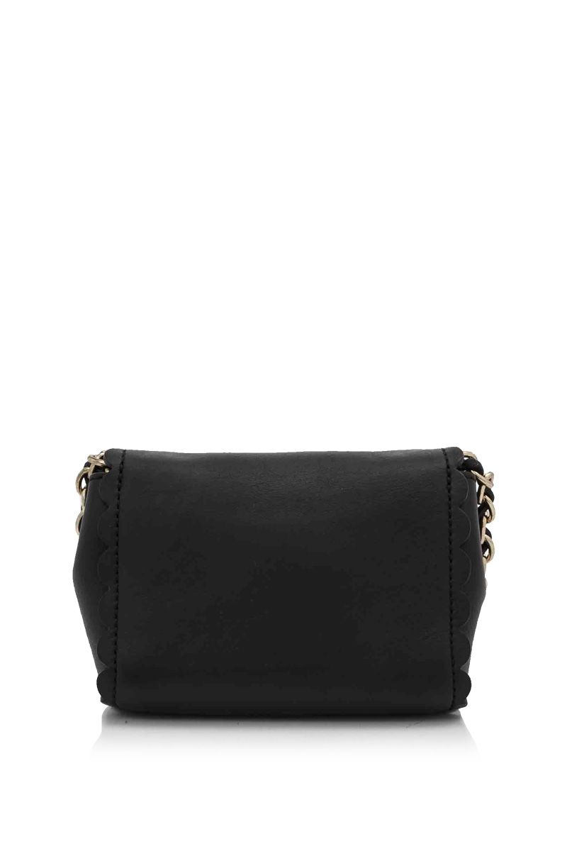 Vintage Mulberry Grained Leather Lily Black