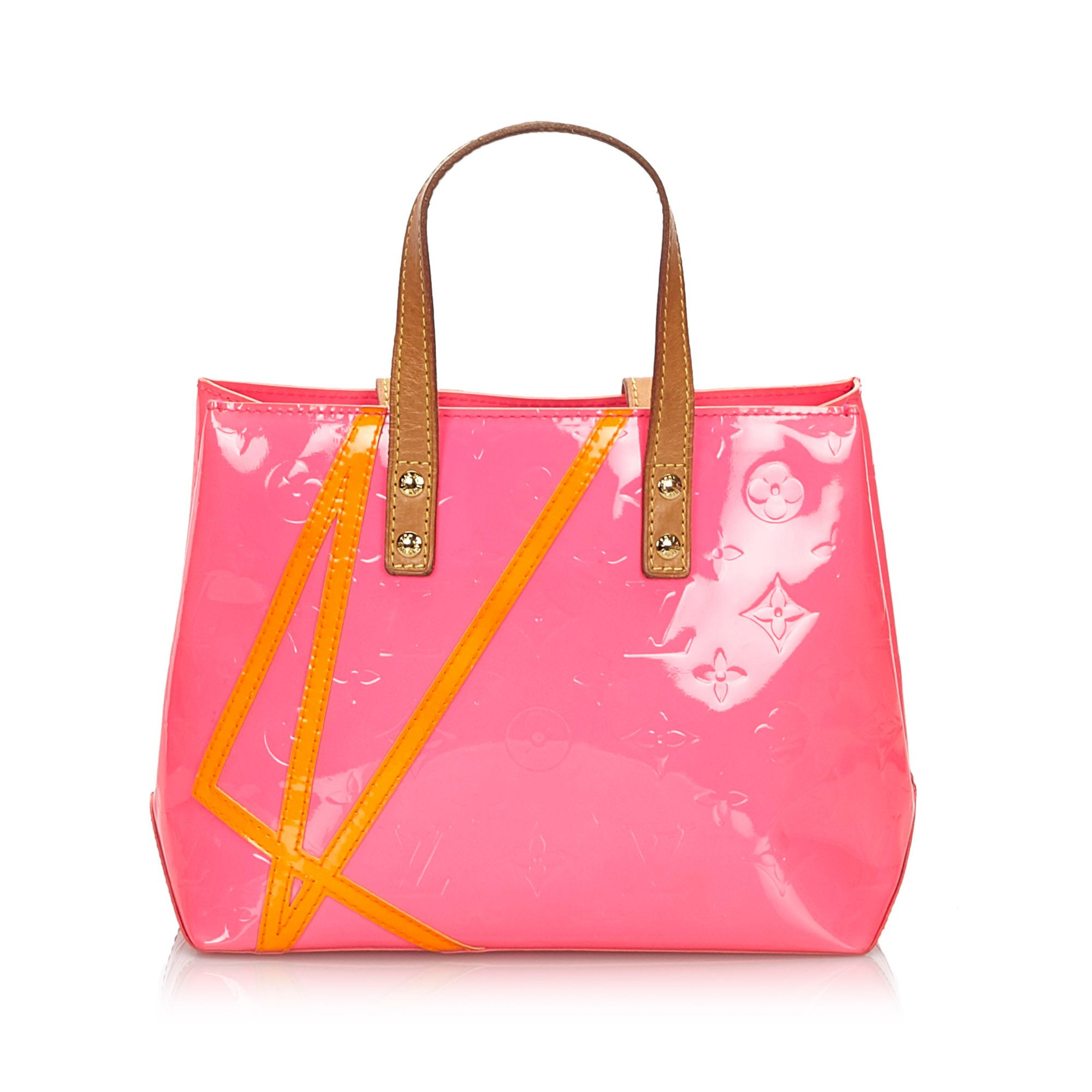 Vintage Louis Vuitton Vernis Robert Wilson Reade PM Pink