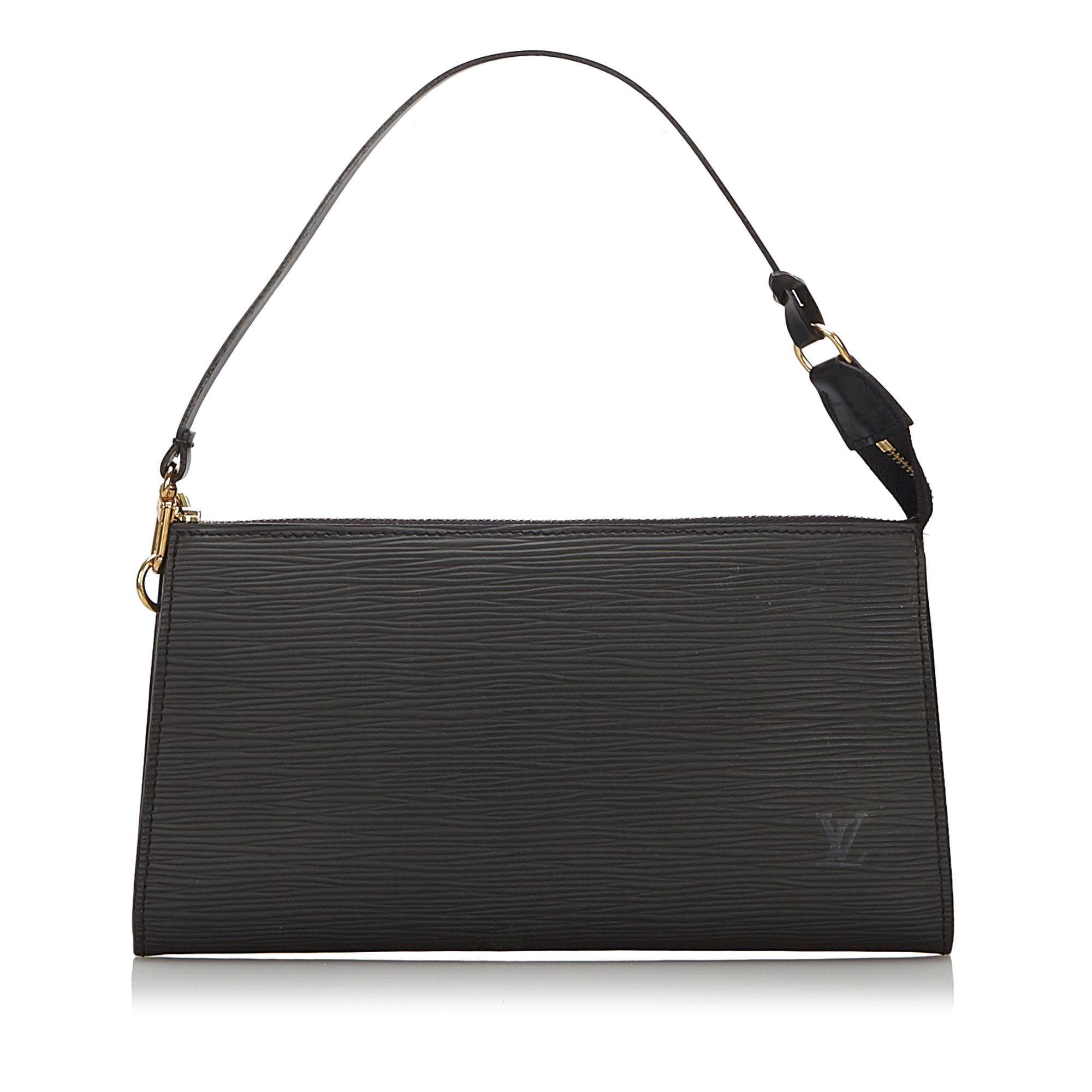 Vintage Louis Vuitton Epi Pochette Accessoires Black
