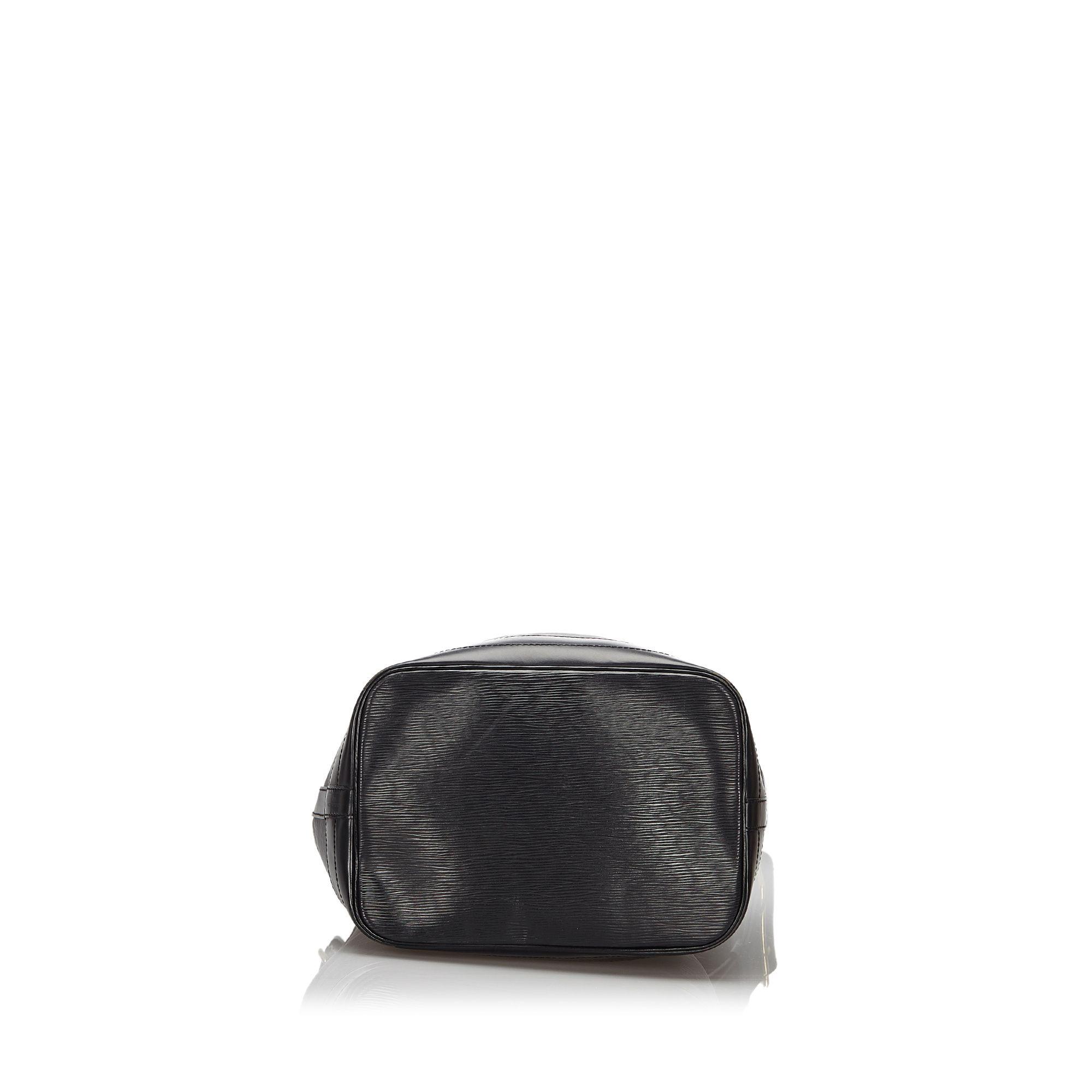 Vintage Louis Vuitton Epi Noe Black