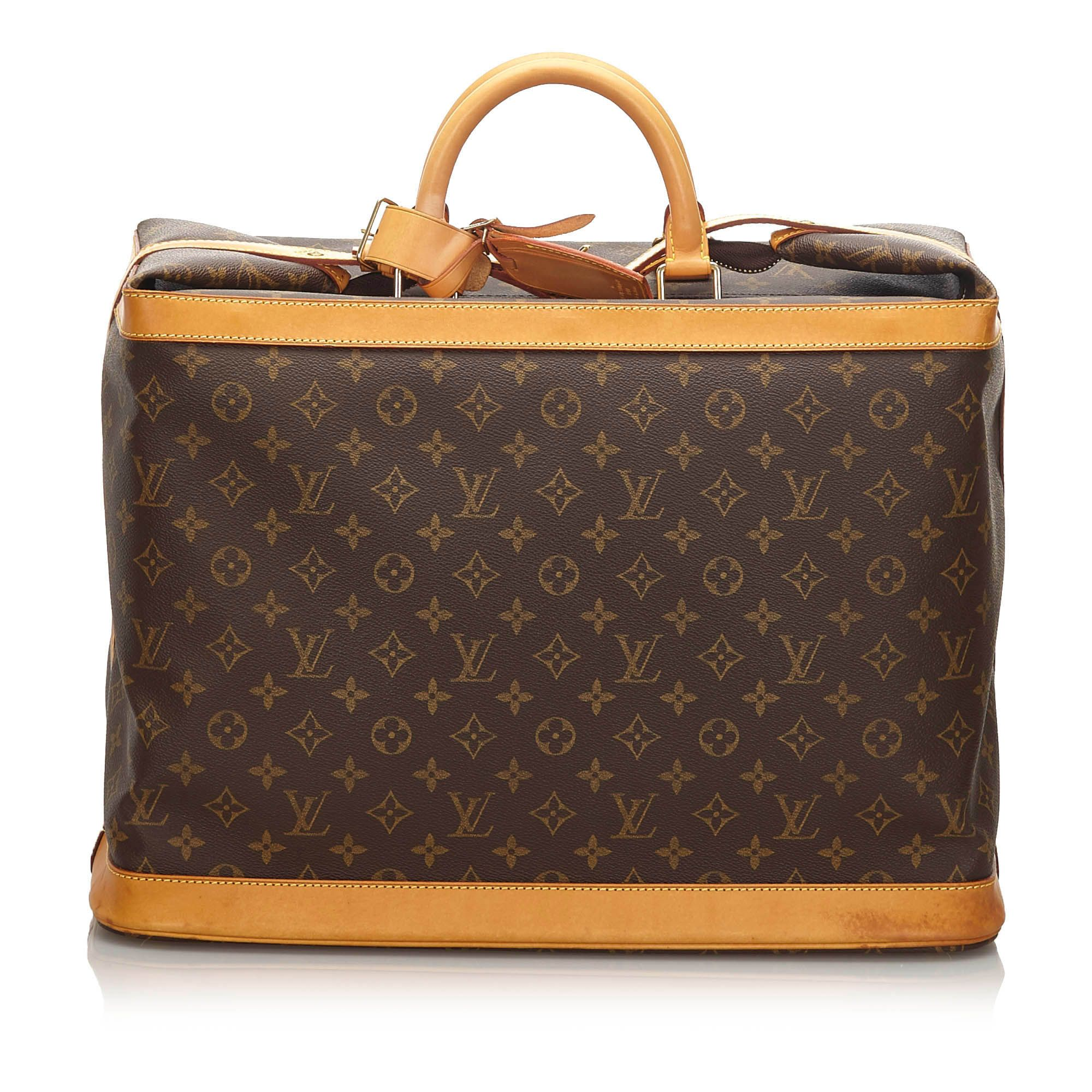 Vintage Louis Vuitton Monogram Cruiser 40 Brown