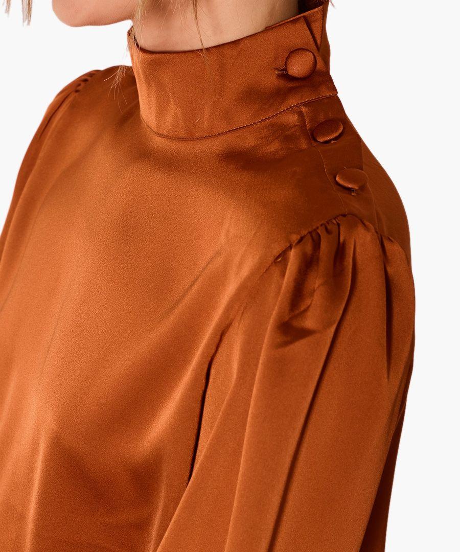Lou satin blouse