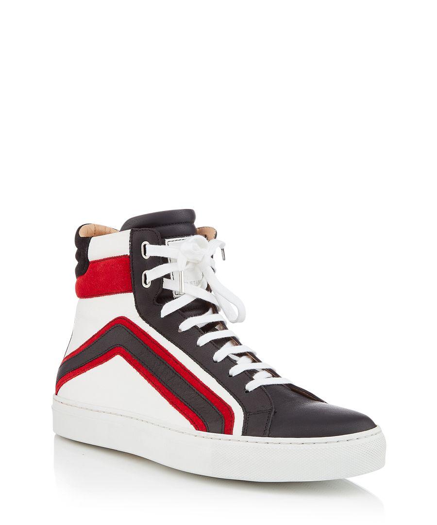 Ampton multi-coloured leather sneakers
