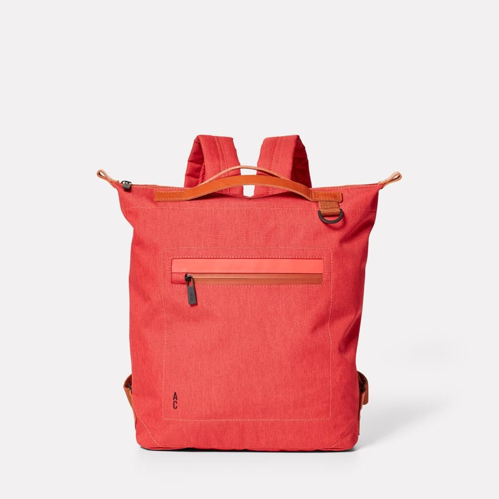 Mini Hoy Travel and Cycle Rucksack in Red