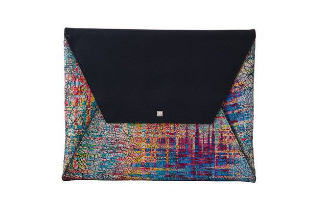 Graffiti Colorama leather patterned bag