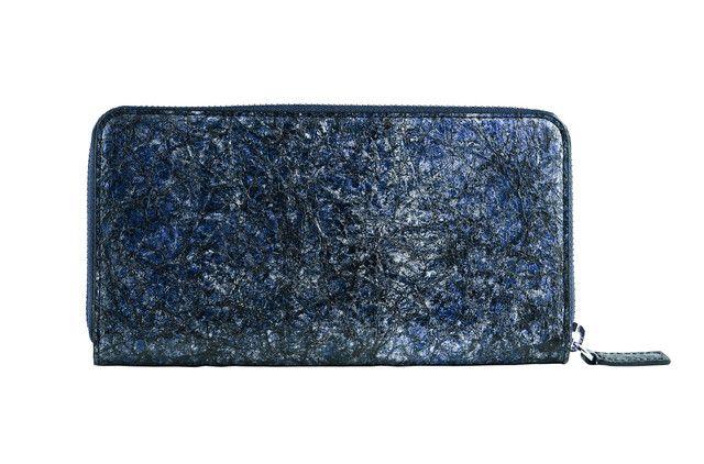 Washi blue wallet