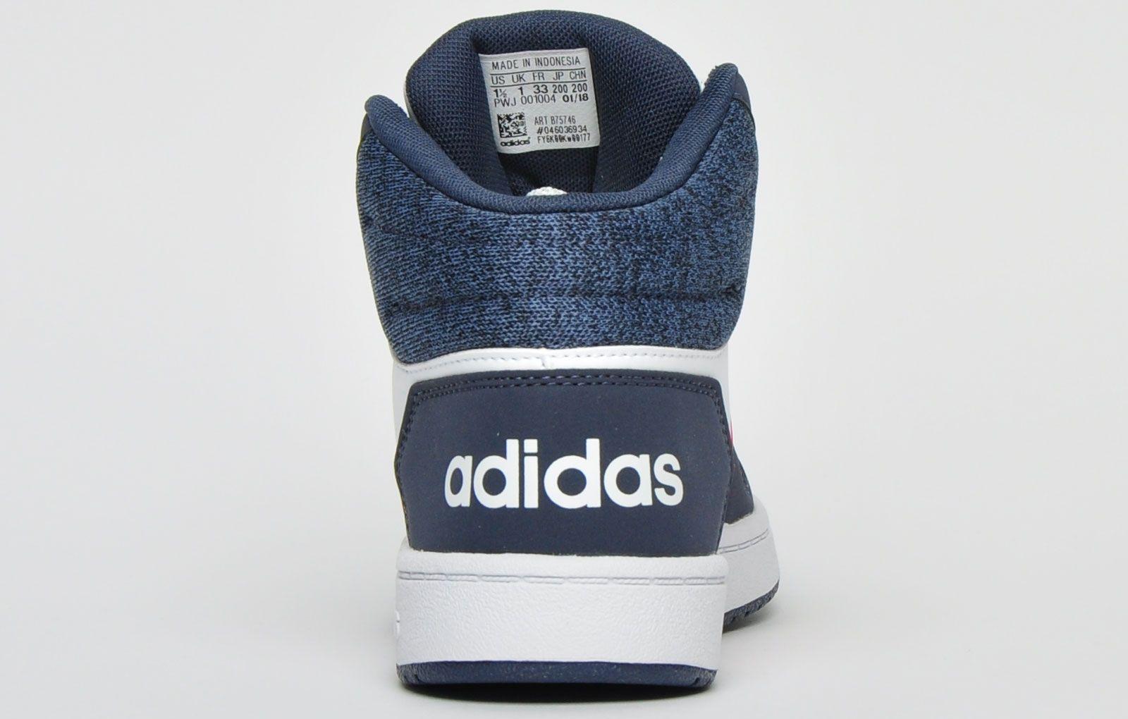 Adidas Hoops 2.0 Mid Junior