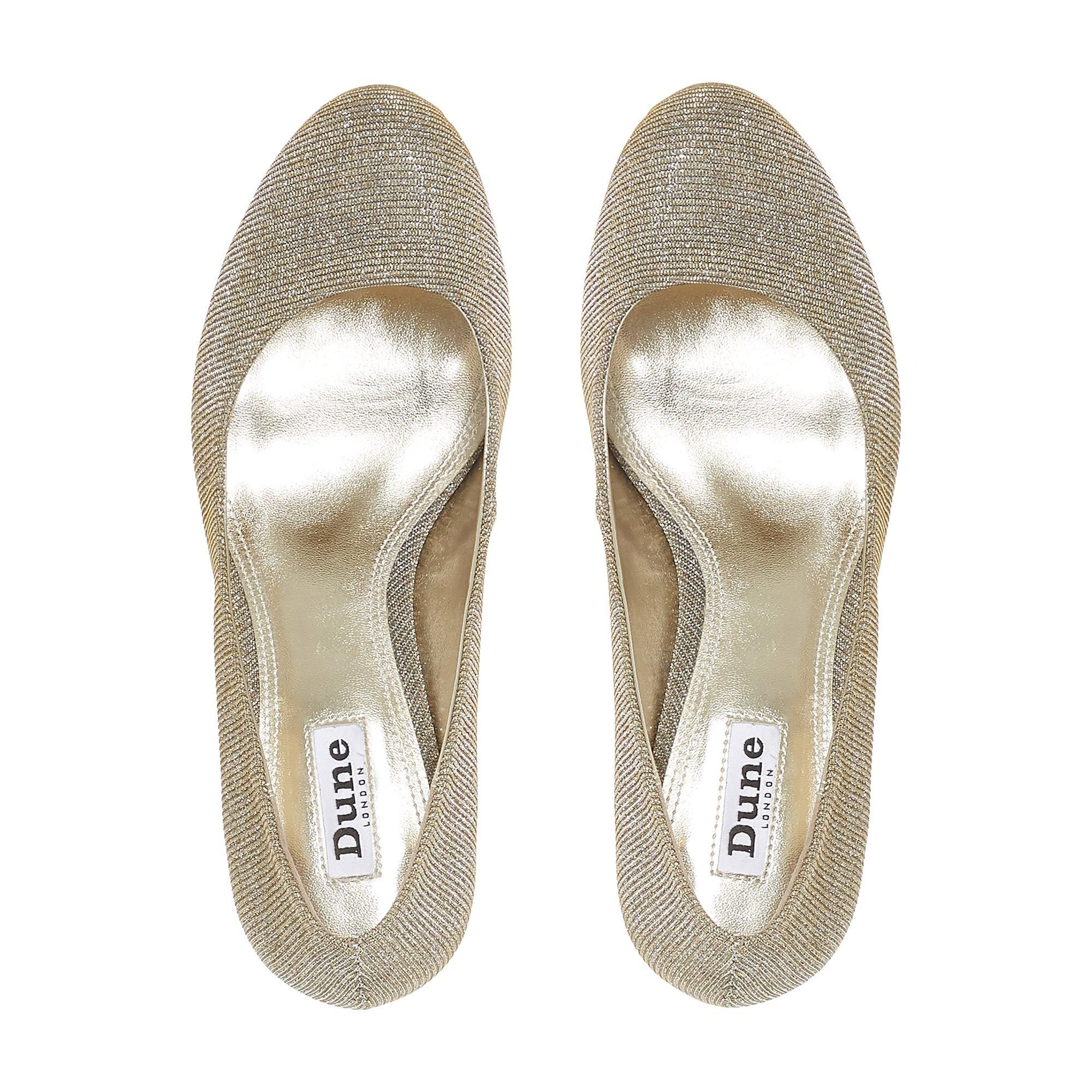 Dune Ladies AMALEI Mid Heel Court Shoes