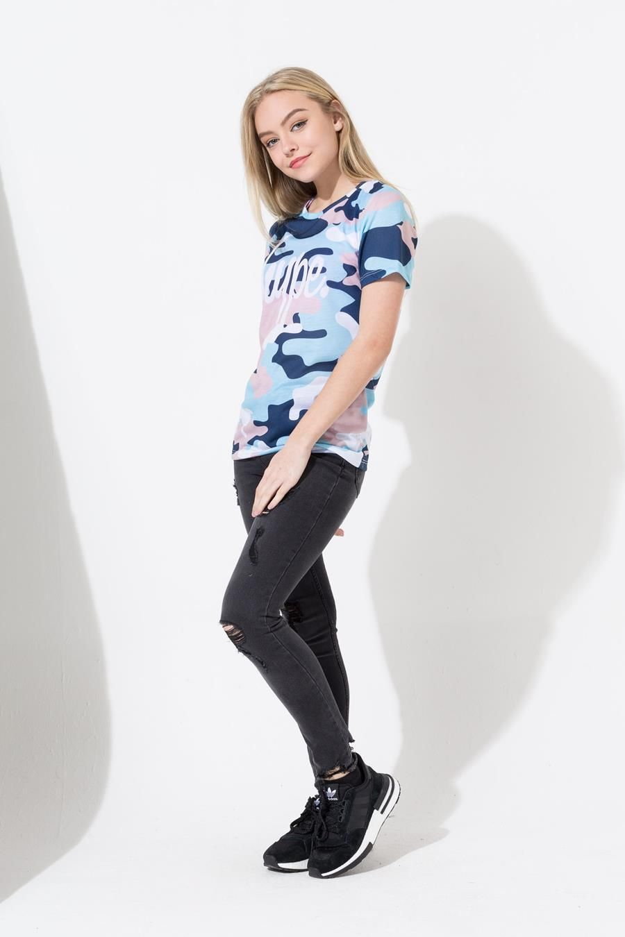 Hype Dunk Camo Kids Sub T-Shirt