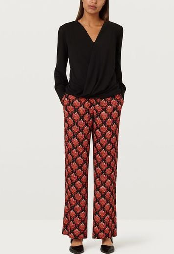 Abelia Tapestry Tile Trousers - Multi