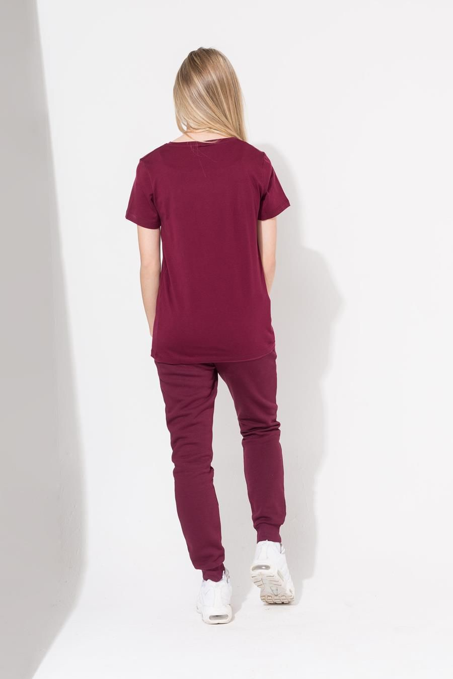 Hype Burgundy Crest Kids T-Shirt
